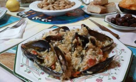 musselrisotto