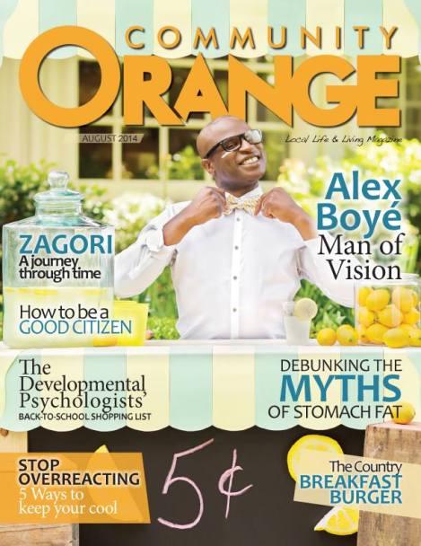 community orange 1st issue