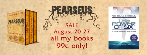All of Nicholas C. Rossis books on sale, August 20-27