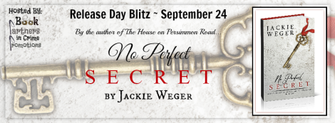 No Perfect Secret Tour Banner 3D Book