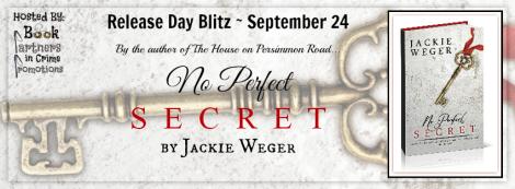 No Perfect Secret Tour Banner 3D Book