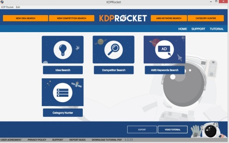 Amazon keyword research tool - KDP Rocket