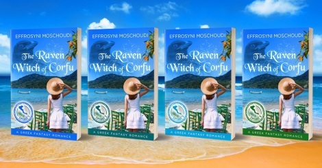 The Raven Witch of Corfu is out in 4 kindle episodes